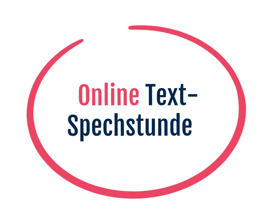 Online Textsprechstunde